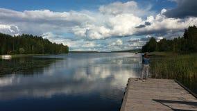 Lago Paijanne Foto de archivo