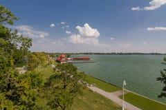 Lago Palic in Serbia Fotografie Stock