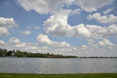 Lago Palic, Subotica Serbia foto de archivo libre de regalías