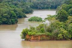 Lago Panamá escénica Gatun Fotografía de archivo