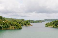 Lago Panamá escénica Gatun Fotos de archivo libres de regalías