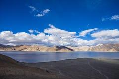 Lago Pangong Imagen de archivo libre de regalías