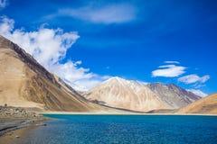 Lago Pangong Fotografia de Stock Royalty Free