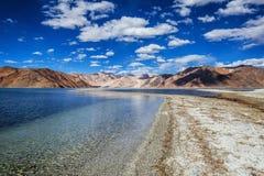 Lago Pangong Foto de archivo libre de regalías