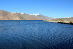 Lago Pangong Imagens de Stock Royalty Free