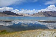 Lago Pangong, Ladakh Fotografia Stock