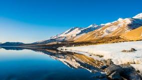 Lago Pangong in Leh Fotografia Stock Libera da Diritti