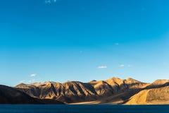 Lago Pangong in Leh Lardakh, India Fotografia Stock