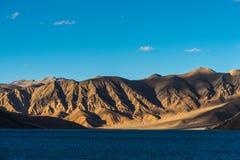 Lago Pangong in Leh Lardakh, India Fotografie Stock