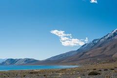 Lago Pangong in Leh Lardakh, India Fotografie Stock Libere da Diritti