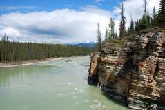 Lago panorâmico Foto de Stock Royalty Free