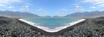 Lago panorama Imagen de archivo
