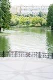 Lago park imagen de archivo