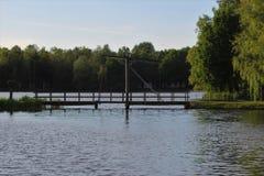 Lago park Immagini Stock Libere da Diritti