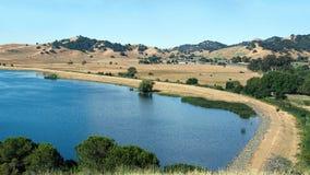 Lago park della valle della laguna Immagine Stock Libera da Diritti