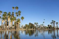 Lago park di Encanto, Phoenix del centro, AZ Immagine Stock Libera da Diritti