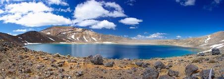 Lago park nacional de Tongariro imagens de stock royalty free