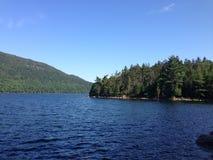 Lago park nacional del Acadia Fotografía de archivo