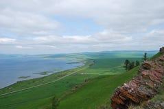 Lago Parnoe in Siberia Fotografia Stock Libera da Diritti