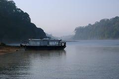 Lago, parque nacional de Periyar, Kerala, la India Imagenes de archivo
