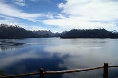 Lago patagonia Imagen de archivo
