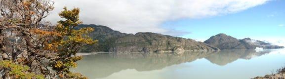 Lago patagonia Immagini Stock