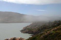 Lago patagonia fotografia stock libera da diritti