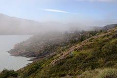Lago patagonia fotografie stock