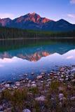 Lago patricia immagini stock
