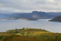 Lago Pedder Fotografie Stock
