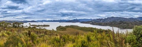 Lago Pedder Imagem de Stock Royalty Free