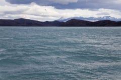 Lago Pehoe a Torres del paine Fotografie Stock Libere da Diritti