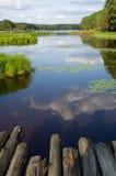 Lago pequeno Foto de Stock Royalty Free