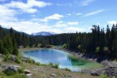Lago pequeno, mundo grande fotografia de stock