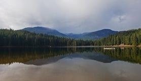 Lago perdido, BC, Canadá foto de stock