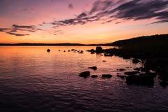 Lago perfeito Foto de Stock