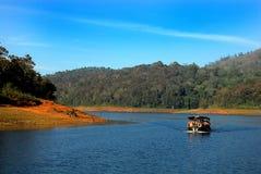 Lago Periyar Foto de archivo