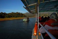 Lago Periyar Fotos de archivo libres de regalías