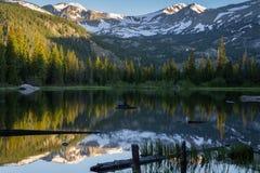 Lago perso - Colorado fotografia stock libera da diritti