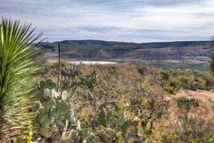 Lago perto do La Quemada Zacatecas foto de stock royalty free