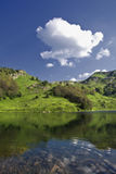 Lago Pesica Immagine Stock
