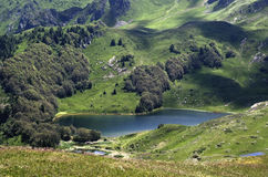 Lago Pesica Immagini Stock