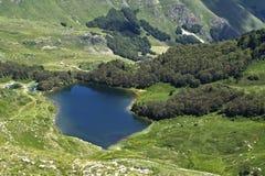 Lago Pesica Fotografia Stock