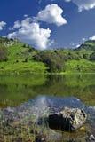Lago Pesica Fotografie Stock