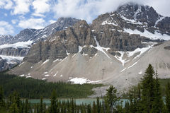 Lago Peyto en Alberta (Canadá) imagen de archivo libre de regalías