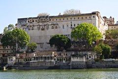 Lago Pichola Imágenes de archivo libres de regalías