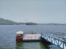 Lago Pichola Fotografía de archivo