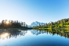 Lago picture Foto de Stock Royalty Free