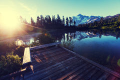 Lago picture Fotografia Stock
