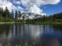 Lago picture a Seattle a Washington fotografia stock libera da diritti